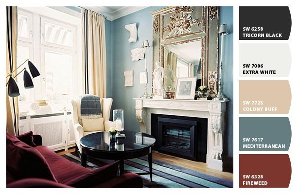 Mediterranean Blue Paint Colors From Chip It By Sherwin Williams