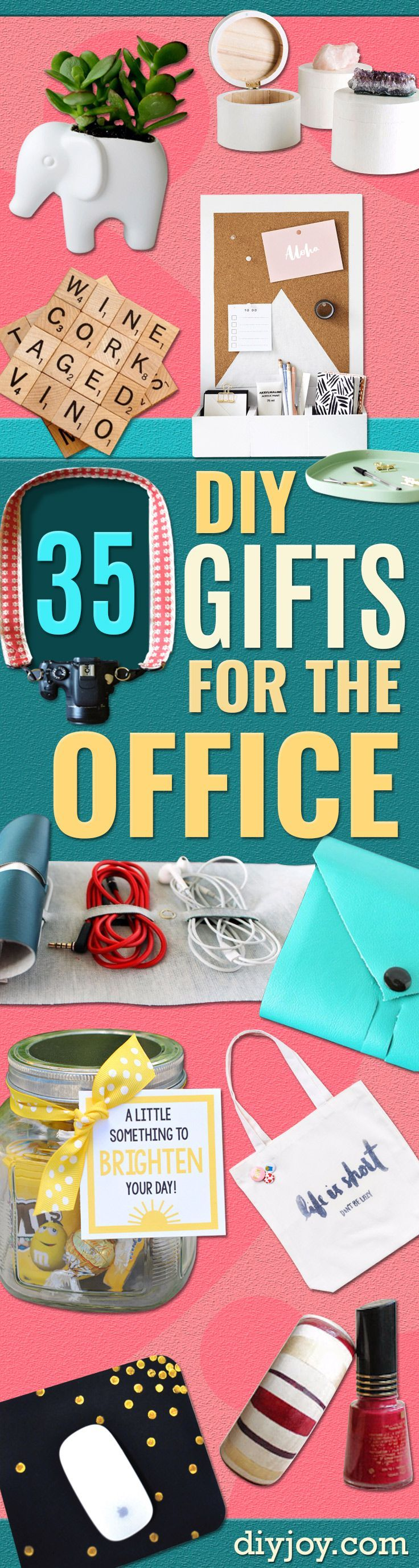 DIY Gift For The Office   DIY Gift Ideas For Your Boss And Coworkers   Cheap