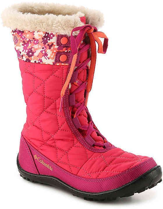 980c48078 Columbia Girls MINX MID II Youth Snow Boot