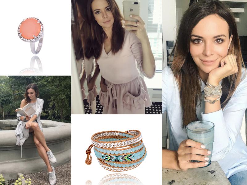 Inspirująca Ania Wendzikowska w By Dziubeka #bydziubeka #trendy #trends #fashion #holidays #greece #star #celebrity #wendzikowska #cute #style #ootd #outfit #jewellery