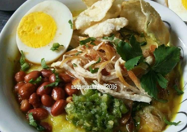 Resep Bubur Ayam Kuah Kuning Oleh Astriepasaribu Resep Resep Resep Masakan Indonesia Ayam