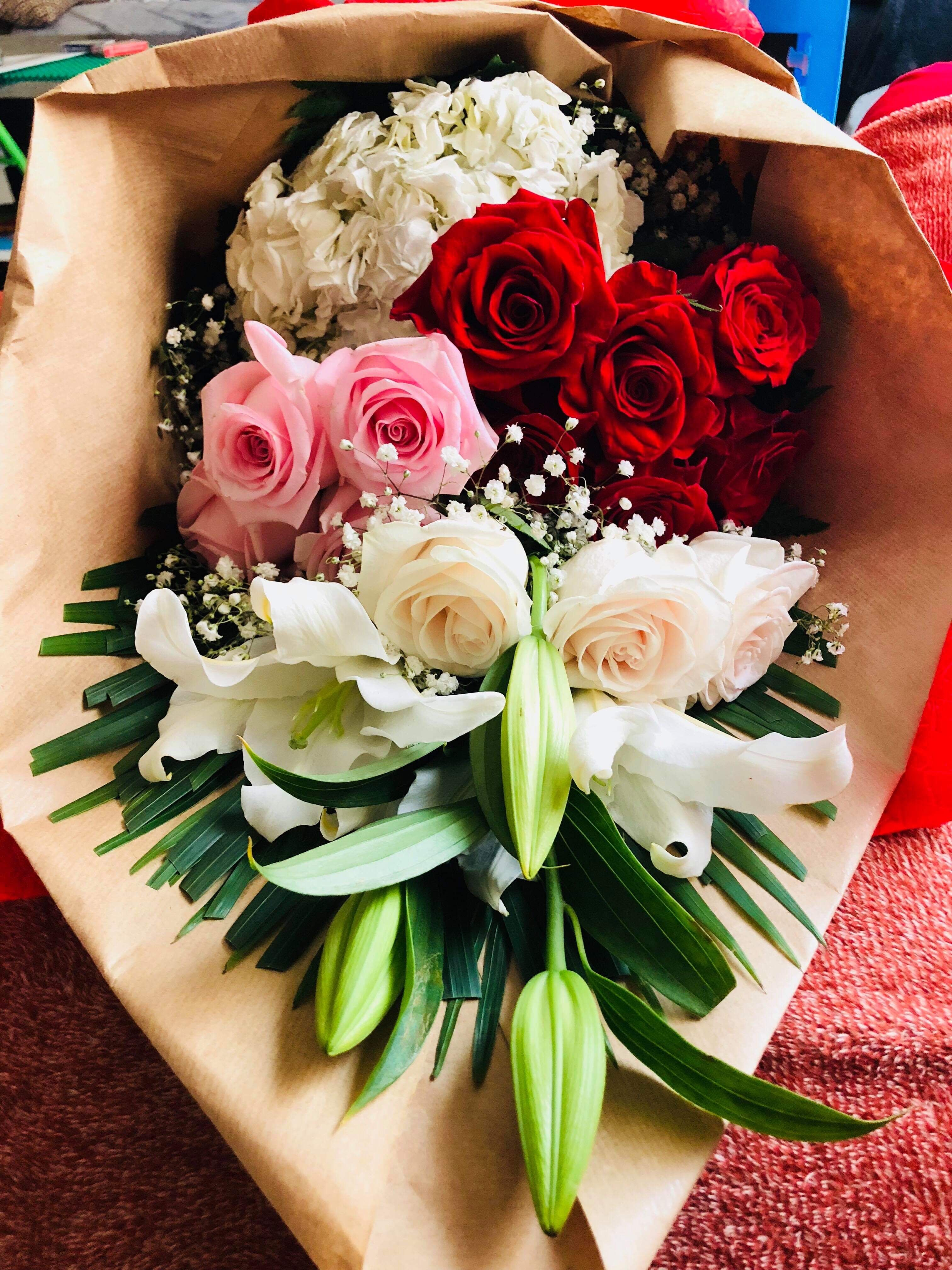 Flower Bouquet From Tubiflorabh Ctto Mr Mrs Follanate Thank