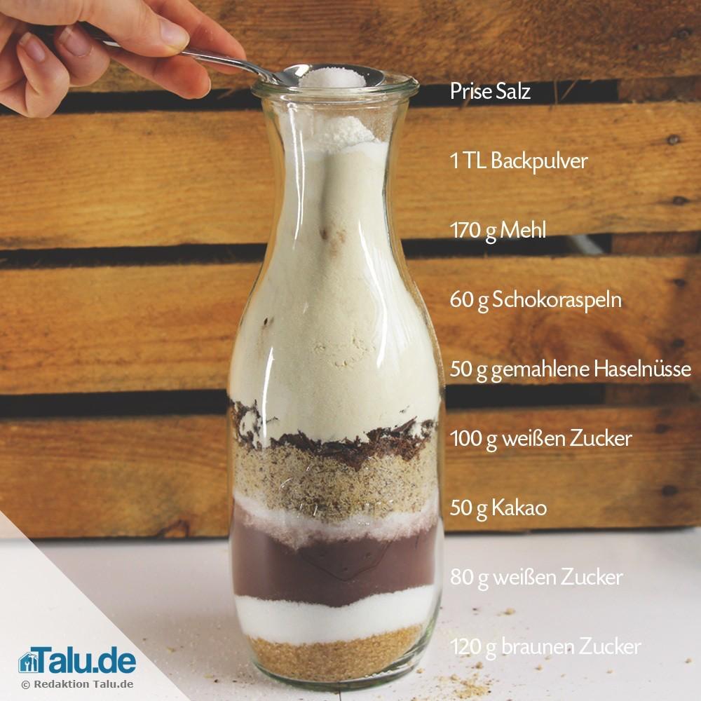 Photo of Backmischung im Glas verschenken – 4 leckere Rezepte – Talu.de
