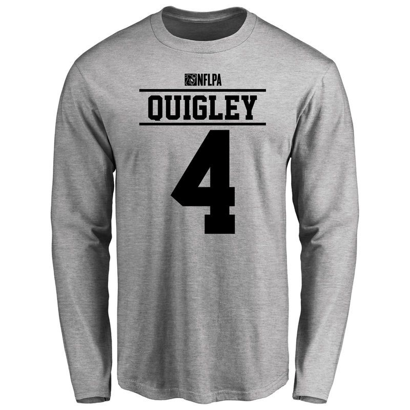 Ryan Quigley Player Issued Long Sleeve T Shirt Ash Long Sleeve Tshirt Men T Shirt Shirts