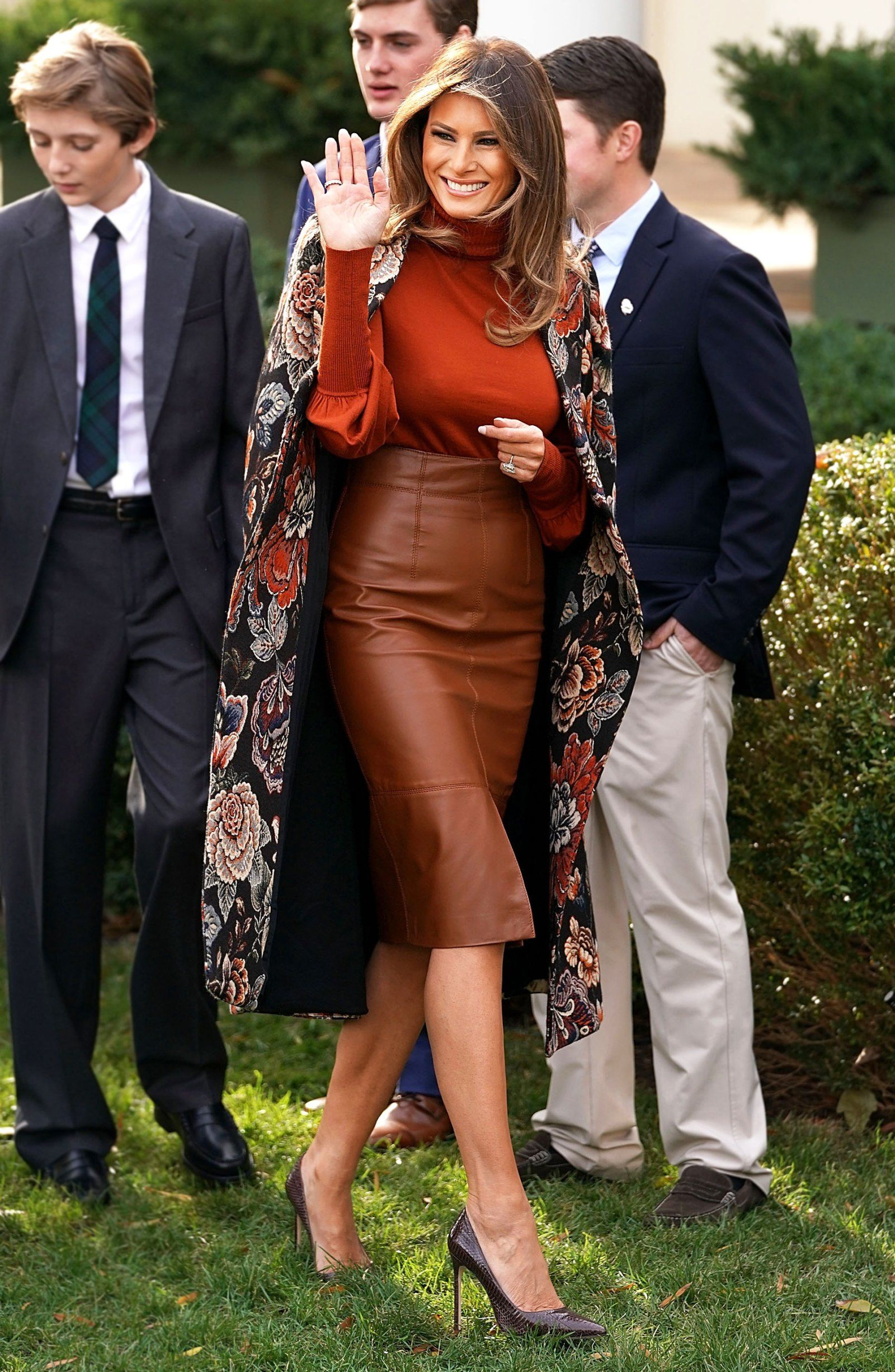 042099103133 Melania Trump s Latest Outfit Is a Stunner