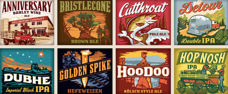 The 14 Coolest Beer Label Designs You Ve Ever Seen Drone News