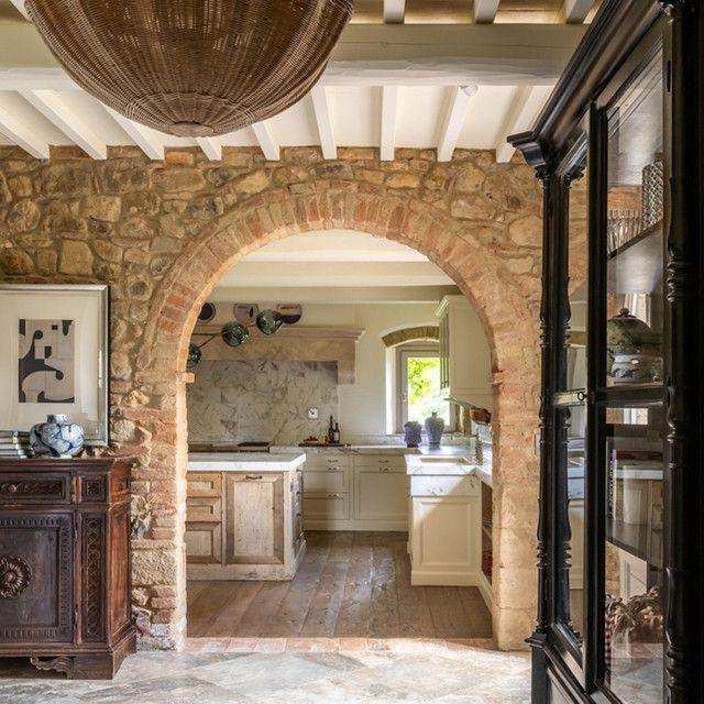 Vivir La Dolce Vita En Una Casa De La Toscana Casas Toscanas Casas De Estilo Español Casas De Estilo Toscano