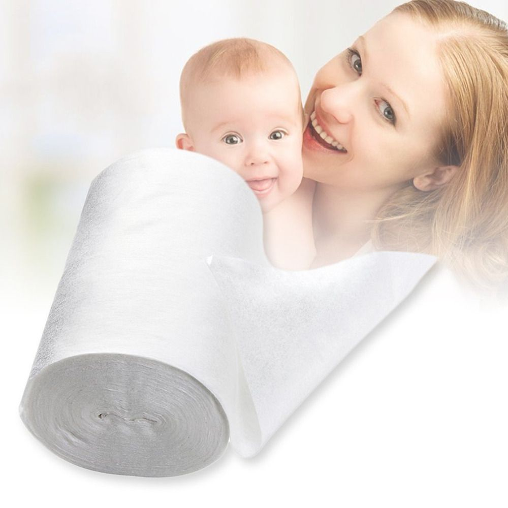 Biodegradable 100 Sheets Baby Diaper Disposable Diaper Pad Diaper Lining