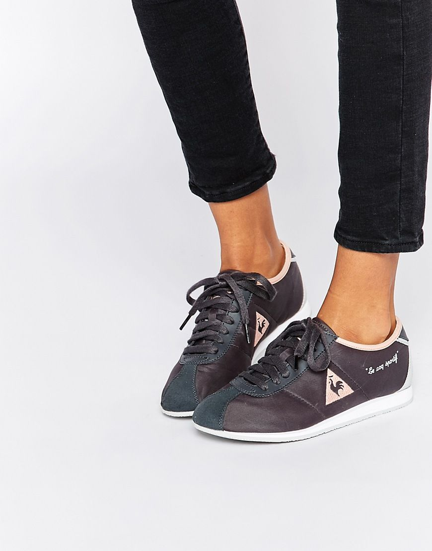 Image 1 of Le Coq Sportif Wendon Classic Charcoal Sneakers
