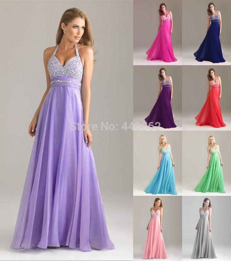 2 Bridesmaids Halter long gown 2015 collection (6) | vestidos para ...