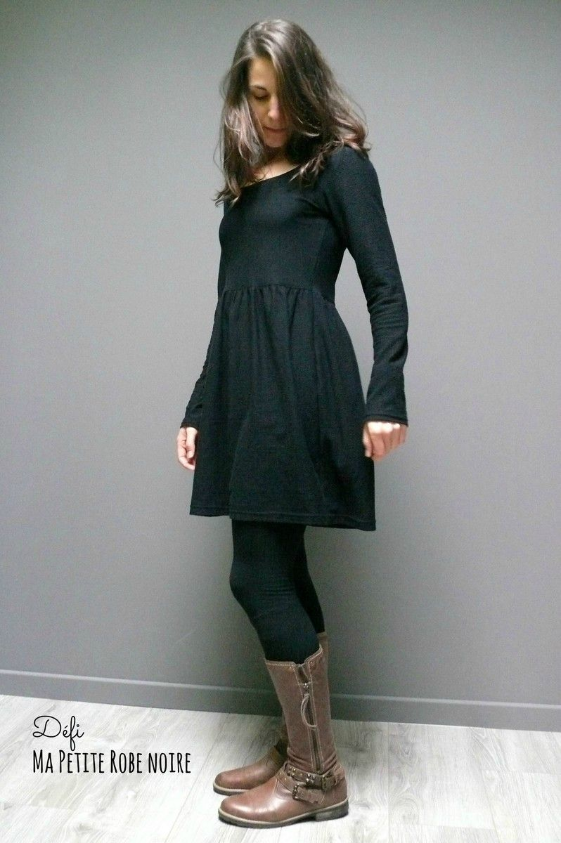 Patron robe hiver