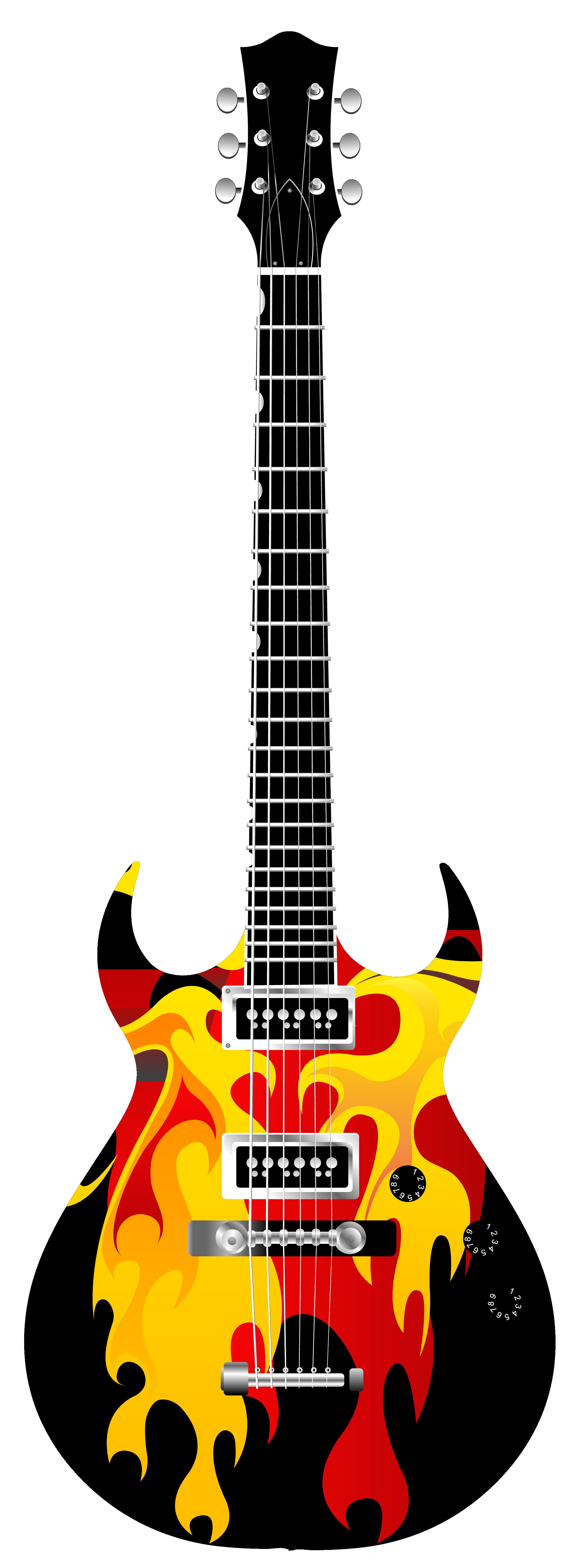 Flame Electric Guitar Png Image Electric Guitar Guitar Cool Guitar