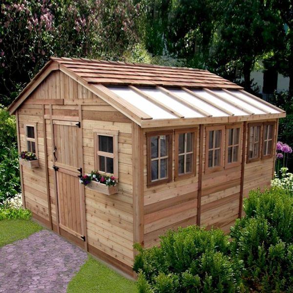 Gartenhaus schwedenstil  tolle gartenhäuser schwedenstil design modern und schön ...