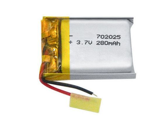 702025 3 7v 280mah Lithium Polymer Battery Pack Rechargeable Lipo Battery Battery Pack Lipo Battery Lipo