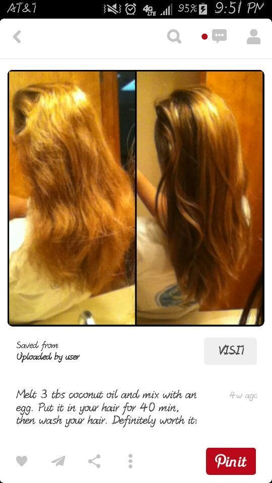 Hair Treatment For Damaged Hair ~ The best treatment for damaged hair ideas on pinterest