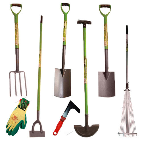 New High Quality Digging Garden Spade Shovel Fork Hoe Rake Tools