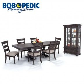 Riverdale 8 Piece Dining Set With Wood Side Chairs And China Magnificent 8 Piece Dining Room Set Review
