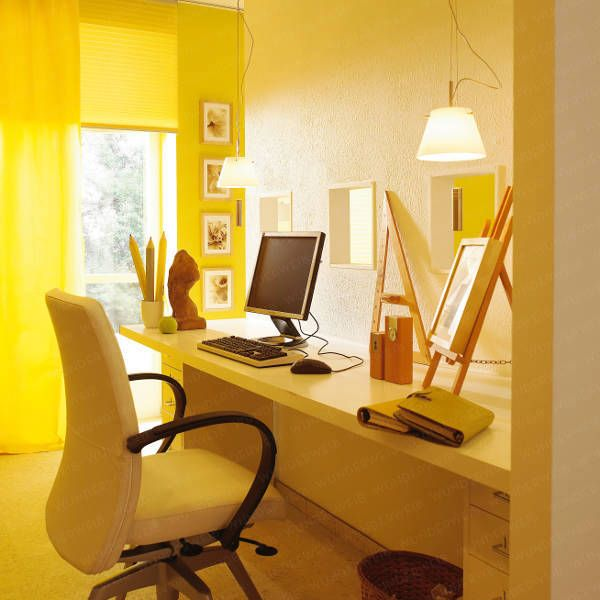 Office Hidden In Living Room