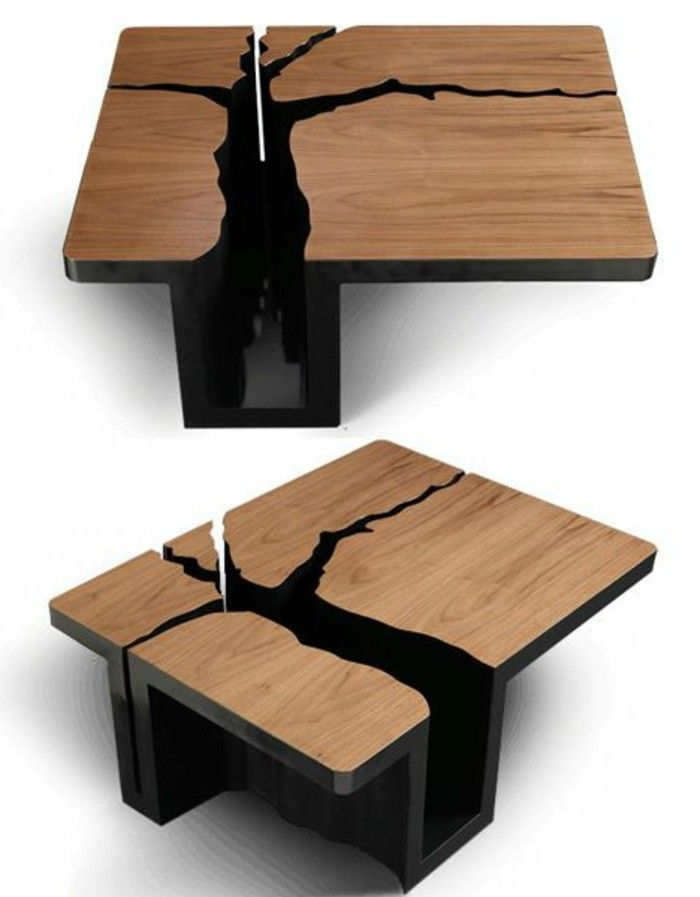 Table Basse Design Bois.La Table Basse Design En Mille Et Une Photos Avec Beaucoup D