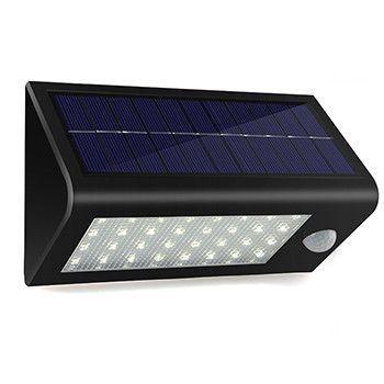 Super Solar Powered Motion Sensor Light Super Bright No Wiring