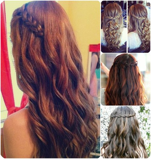 Peachy 1000 Images About Hair On Pinterest Homecoming Hairstyles Hairstyle Inspiration Daily Dogsangcom