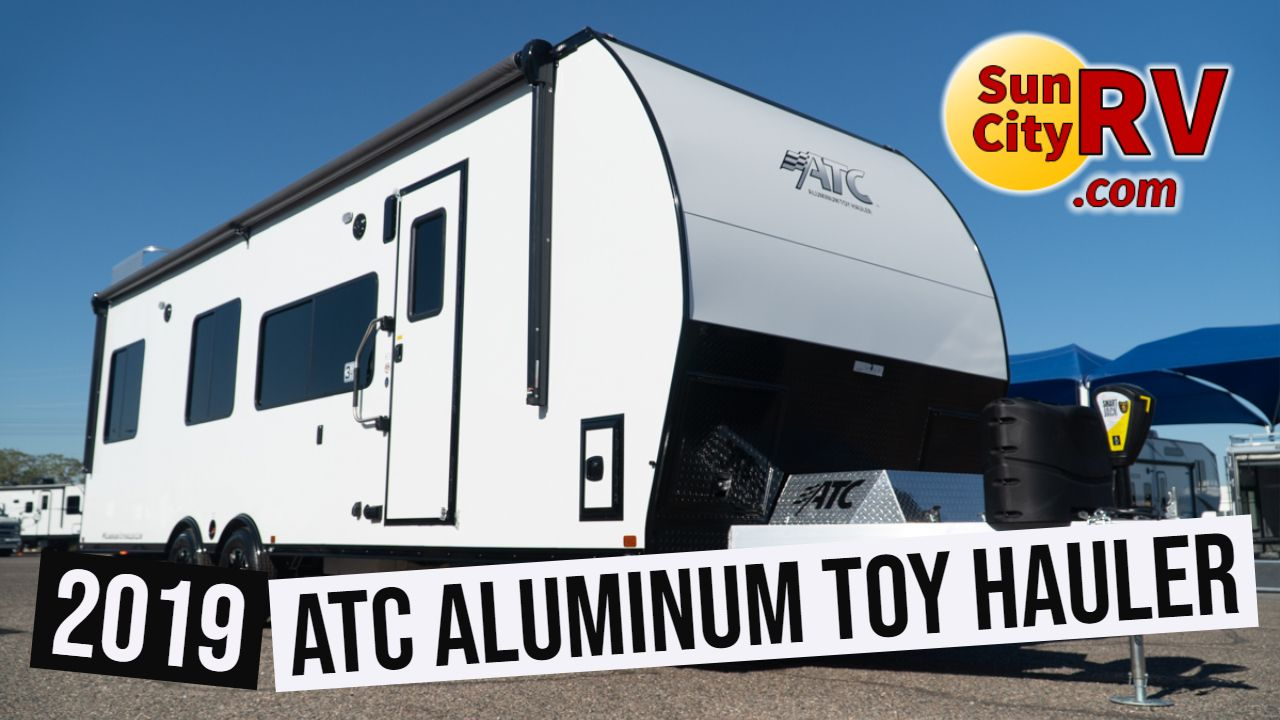 The 2019 Atc Aluminum Toy Hauler Is Pound For Pound The Best Toy
