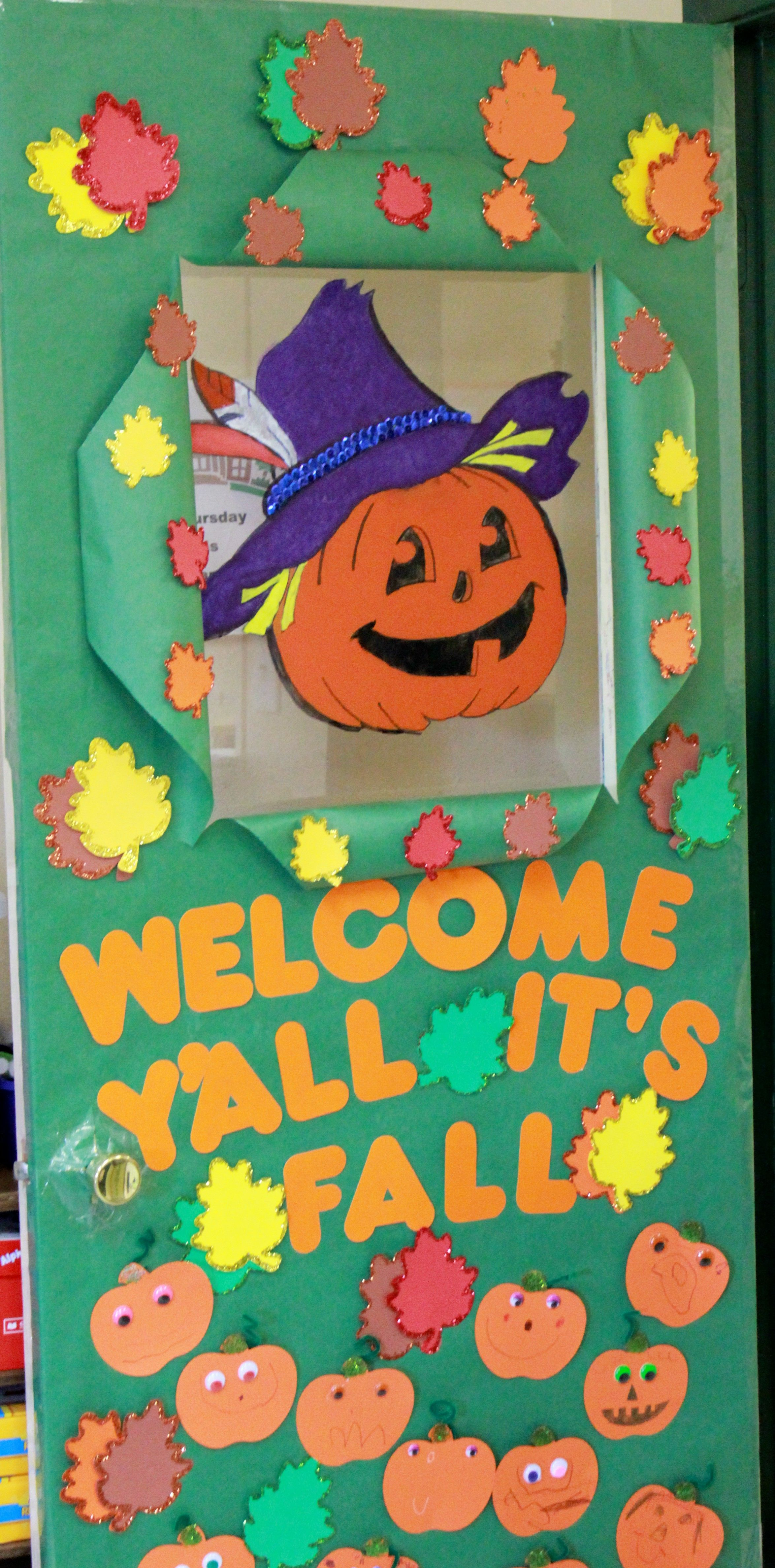 classroom door decoration ideas for fall