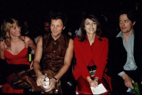 Jon Bon Jovi And Wife Dorothea With Elizabeth Hurley And Hugh Grant