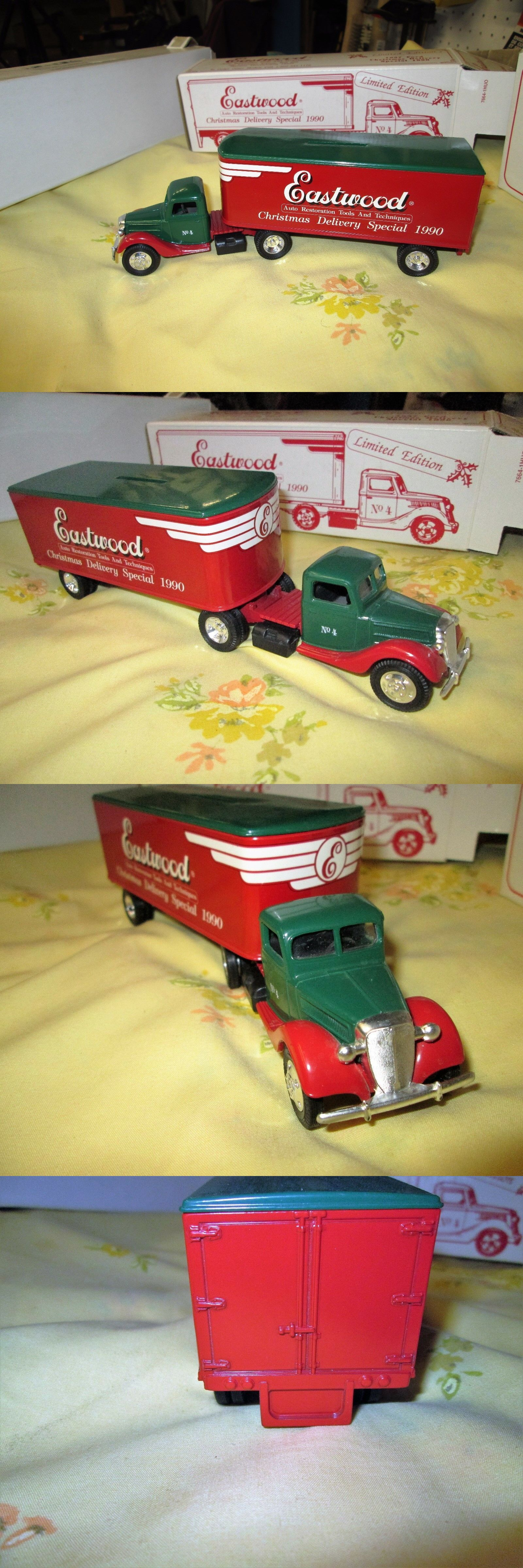 Contemporary Manufacture 2498: Eastwood Die Cast Christmas Delivery Special! Truck #4 Mib ...