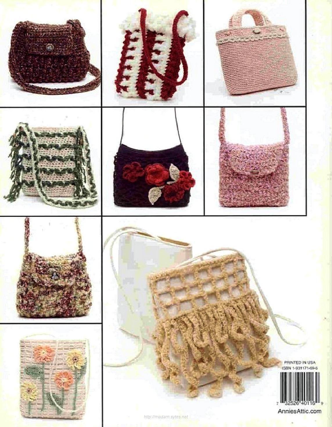 Annie\'s attic crochet bag boutique   crochet fantasia   Pinterest