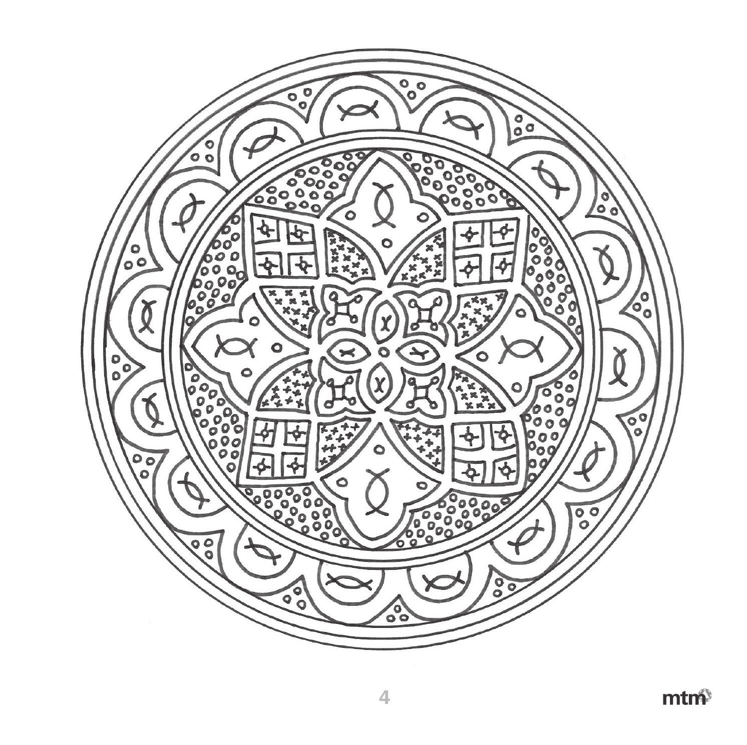 Arte Andaluz En Mandalas Mtm Editores Dia De Andalucia Mandalas Cuadernos De Matematicas