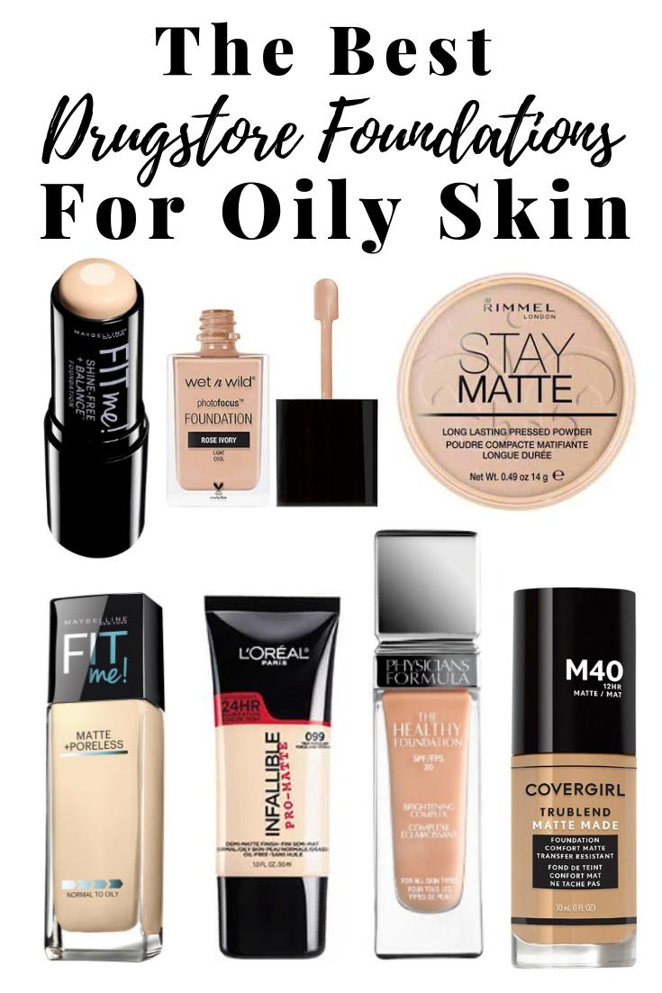 Best Drugstore Foundations For Oily Skin Best foundation