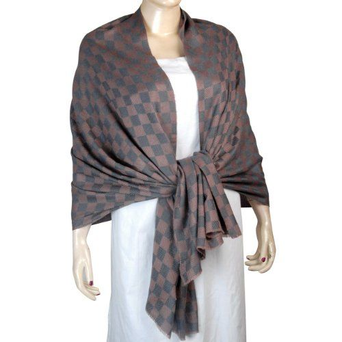 Indian Handmade Clothing Rosy Brown and Grey Premimum Wool Shawl & Scarves ShalinIndia,http://www.amazon.com/dp/B004C586XM/ref=cm_sw_r_pi_dp_h24-rb1GR0YV0BHS