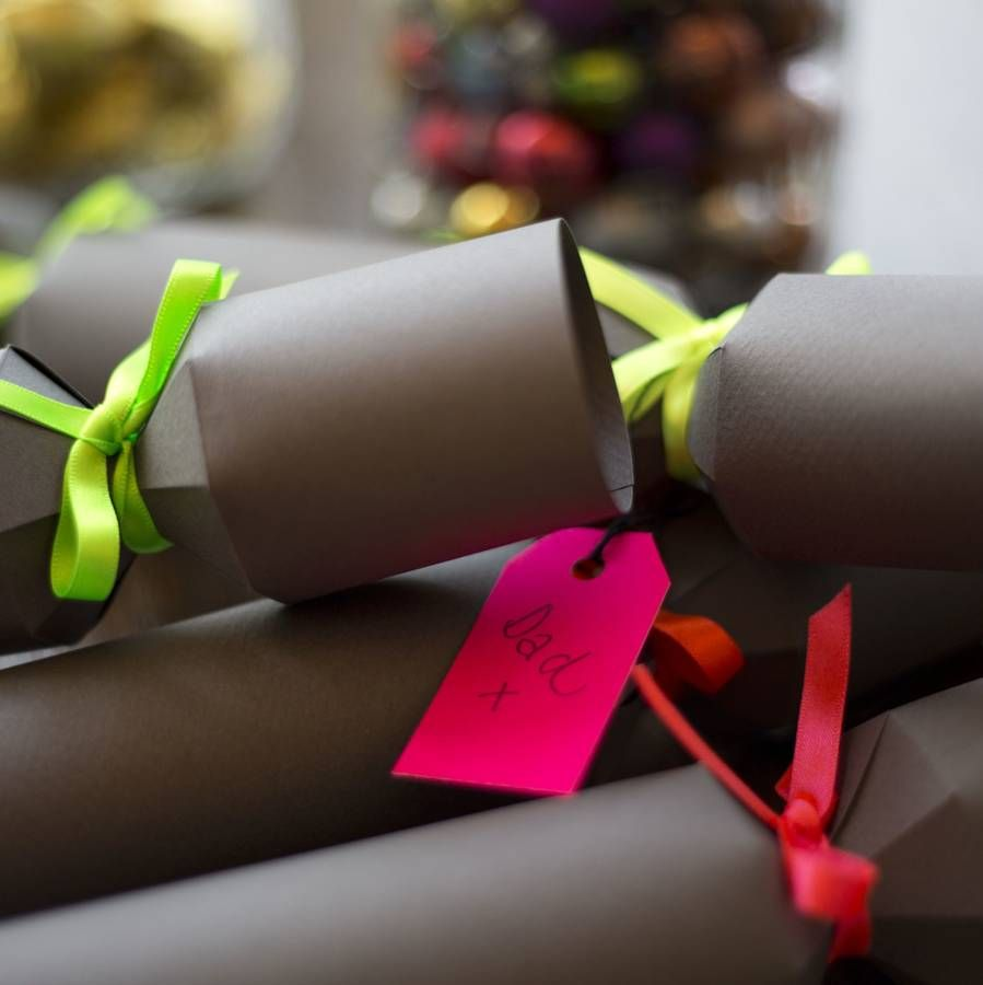 fill your own charcoal christmas cracker