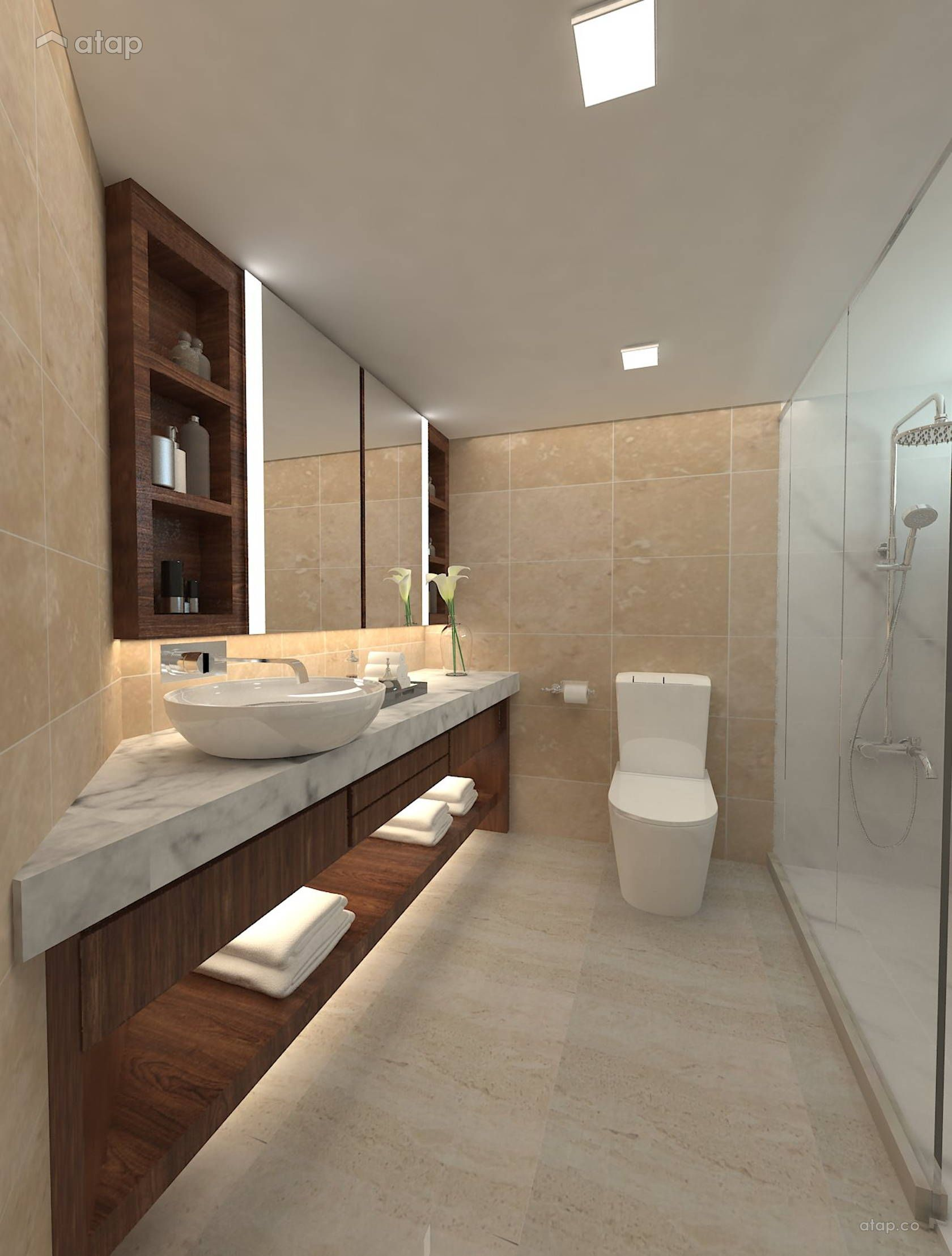 Modern Bathroom Condominium Design Ideas Photos Malaysia Atap Co Condominium Interior Condominium Design Condominium Interior Design