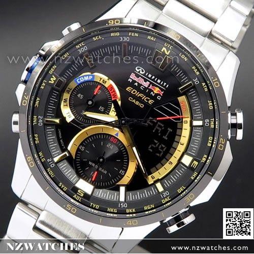 af064e00914 Casio Edifice INFINITI Red Bull Ltd Edition Twin Sensor Chronograph Watch  ERA-300RB-1A