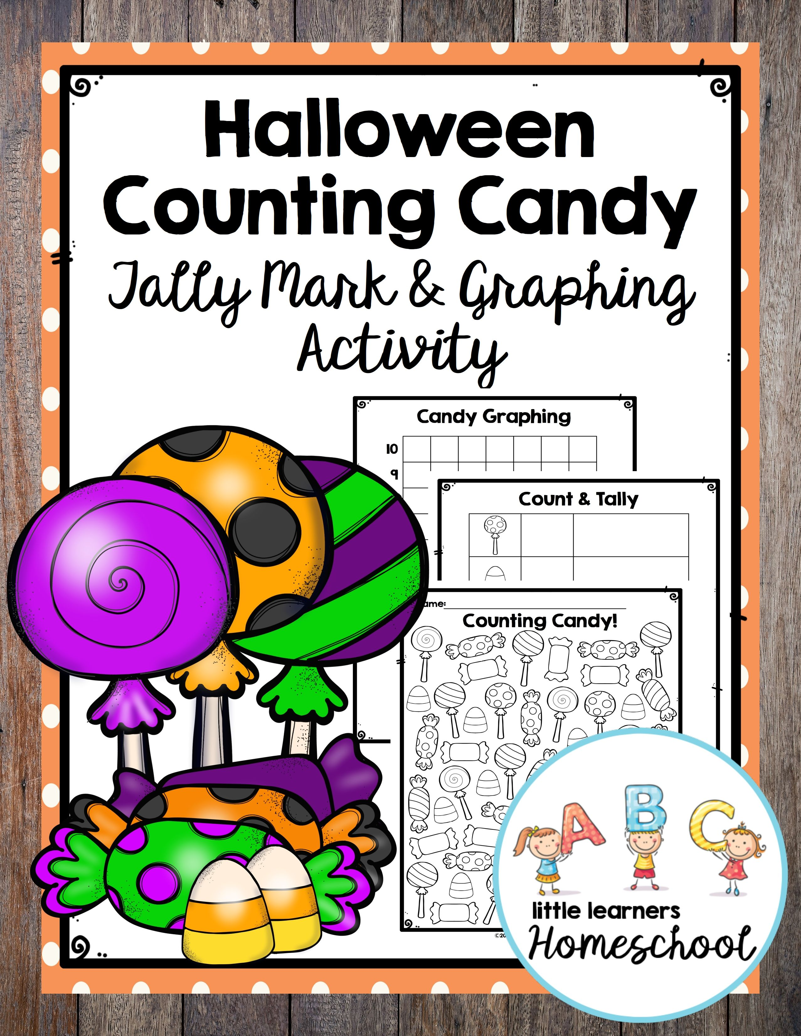 Halloween Counting Candy Tally Mark Amp Graphing Activity In