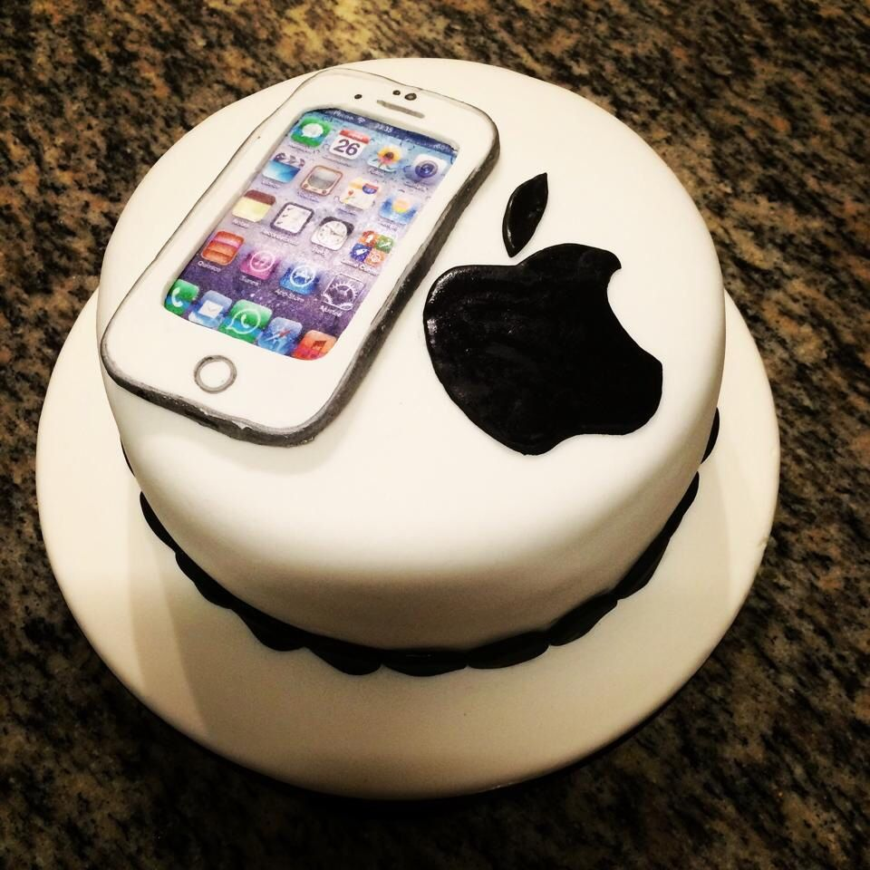 iPhone 6 tortas Pinterest Teen birthday cakes Birthday cakes