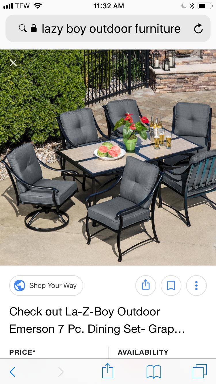 Lazy Boy Design A Room: Lazy Boy Outdoor Furniture