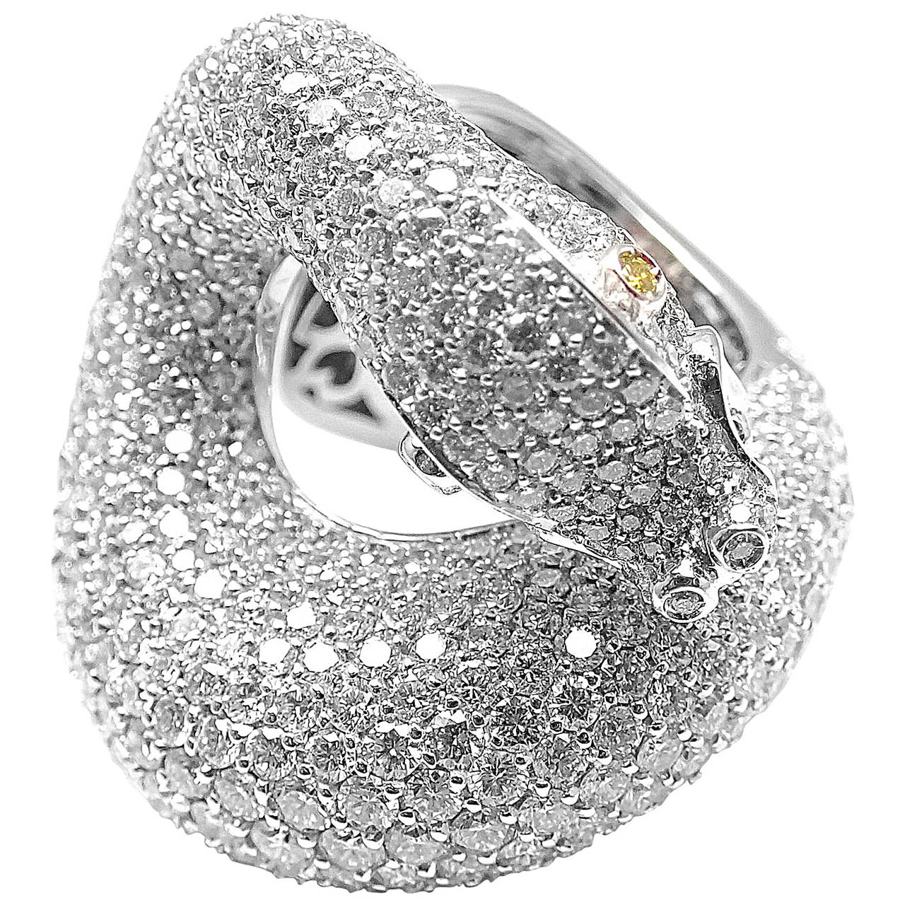 one baby cognac ring snake ps diamond