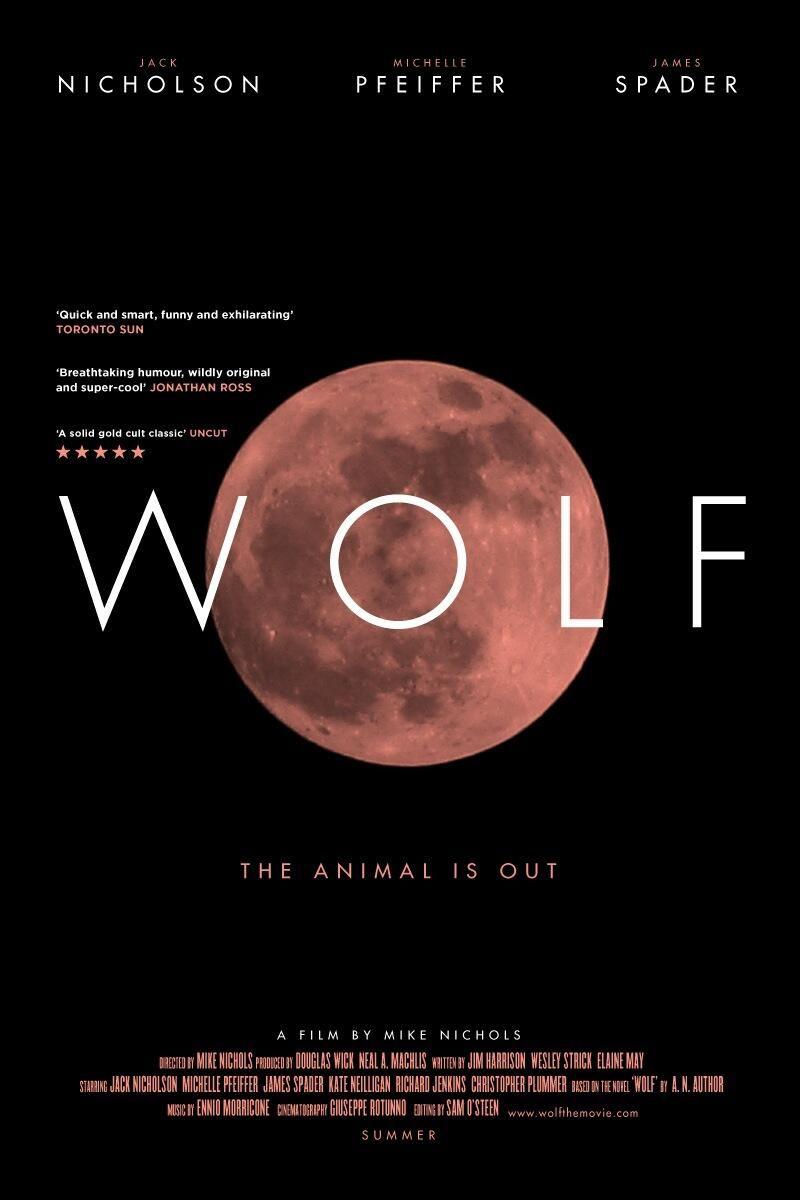 Twitter / benanslow: New poster: Wolf ...
