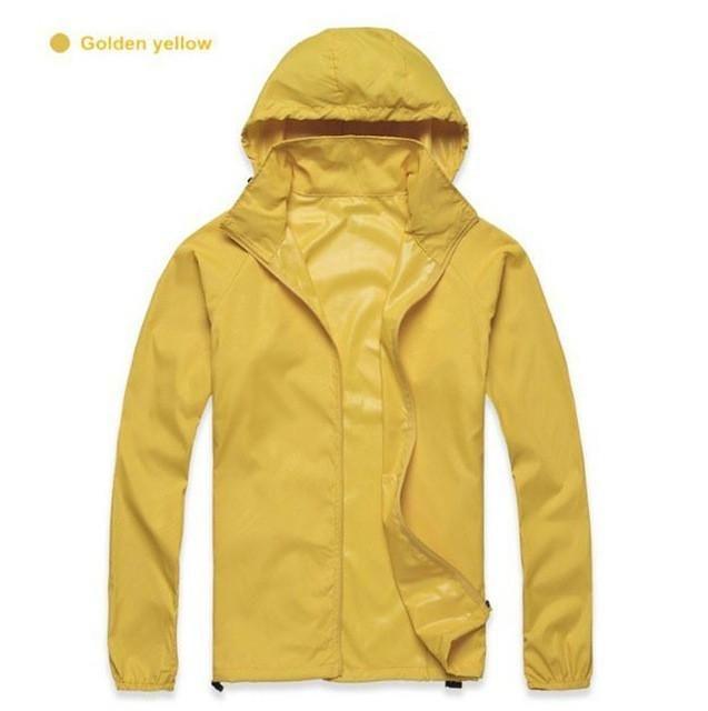 3a4a88d38f27 Men Women Quick Dry Hiking Jackets 2017 New Waterproof Sun-Protective  Outdoor Sports Coats Skin Male Female Windbreaker