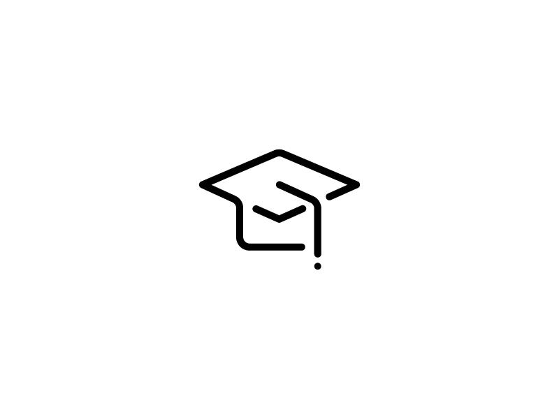 Academic Icon Logo Design Set Instagram Highlight Icons Icon