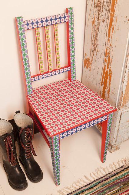 Dale un toque de alegría a tus sillas.