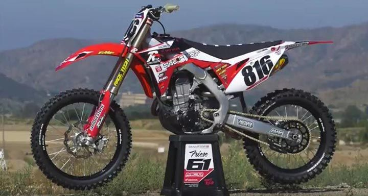 Video Ride Engineeringmotoconcepts Honda Crf450r Project Bike Ride