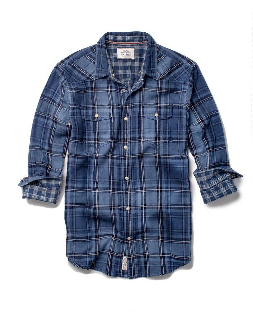 Flag & Anthem Newport Shirt  #MensFashion #ClassicMensShirts #Plaid #Shirts #MensWear #ModernShirts