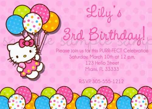 Hello kitty invitations free download etamemibawa hello kitty invitations free download filmwisefo Image collections