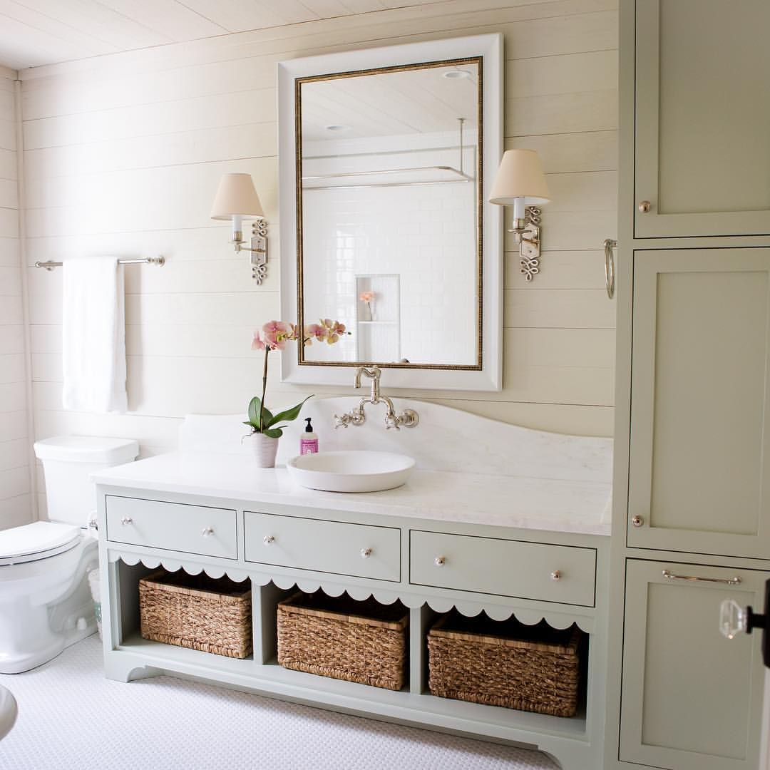 We\'ll never tire of this bathroom from our @southernlivingmag ...