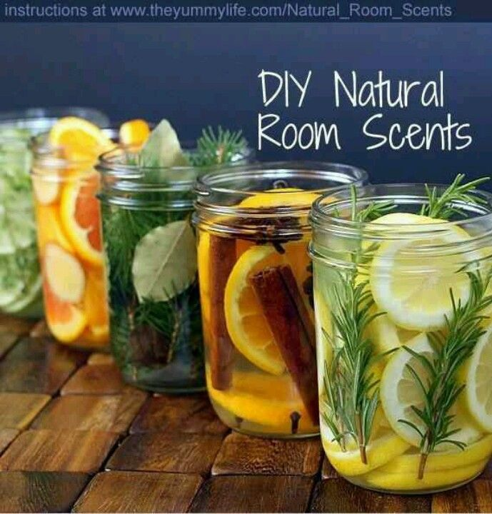 Household scents made naturally