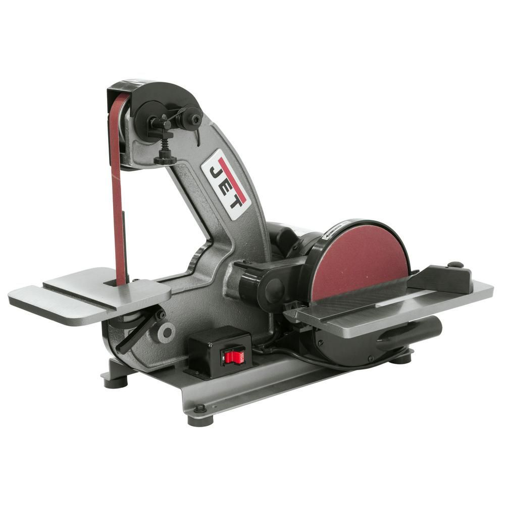 Remarkable Jet 1 3 Hp 1 In X 42 In Benchtop Belt And 8 In Disc Cjindustries Chair Design For Home Cjindustriesco